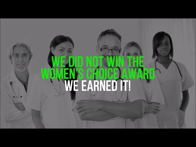 Only the BEST for our Patients | Women's Choice Award Recipients video thumbnail