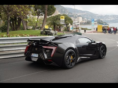 $3.4 Million LYKAN Hypersport – Overview + Sound in Monaco!