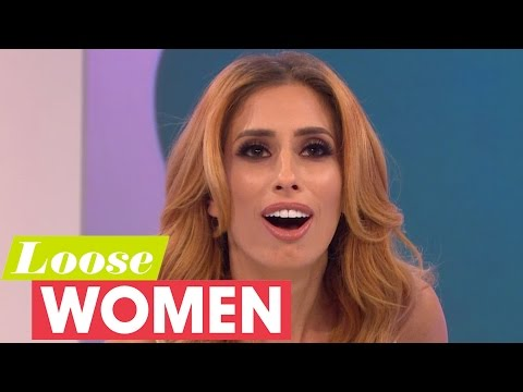 Stacey Solomon's Awkward First Kiss With Joe Swash | Loose Women