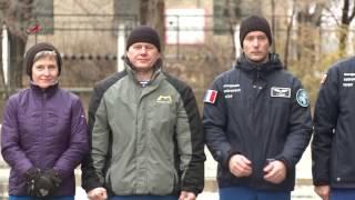 ТПК  Союз МС 03   Подъем флагов