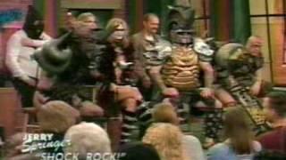 Gwar - Live On Jerry Springer (Shock Rock)