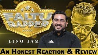 Reaction on Faltu Rapper Official Video by Dino James
