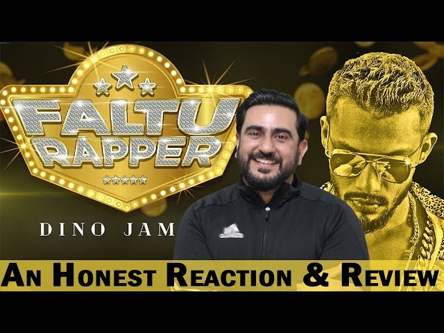 Reaction on Faltu Rapper Official Video by Dino James