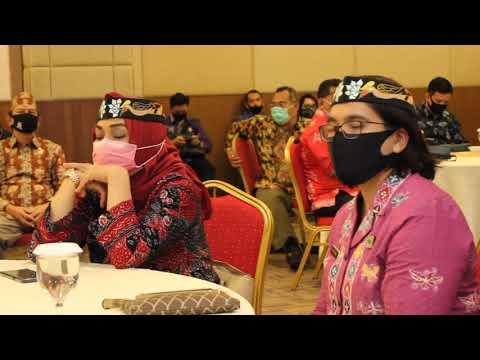 Pengukuhan Pos Yankomas dan rapat Koordinasi MPWN & MPDN Kanwil Kemenkumham Kalteng