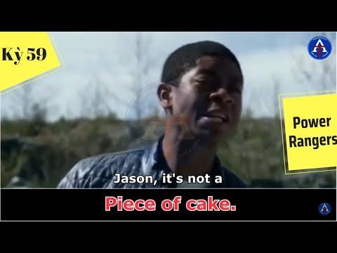 [HỌC IDIOM QUA PHIM] - Piece Of Cake (Phim Power Rangers)