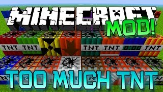 minecraft too much tnt mod meteor showers instant houses destruction more mod showcase