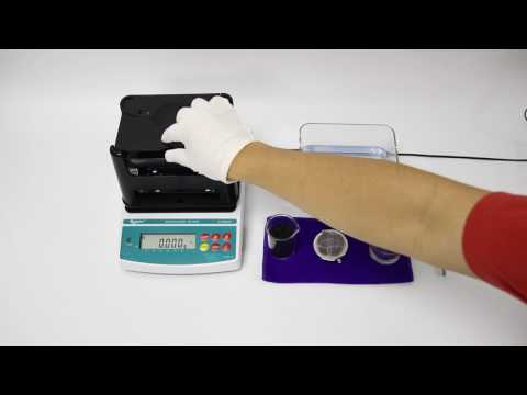 Instrument is used to measure density of a solid