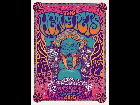 "The Heavy Pets ""Walrus~Tomorrow Never Knows~Lucy"" Funky Buddha 10/16/15"