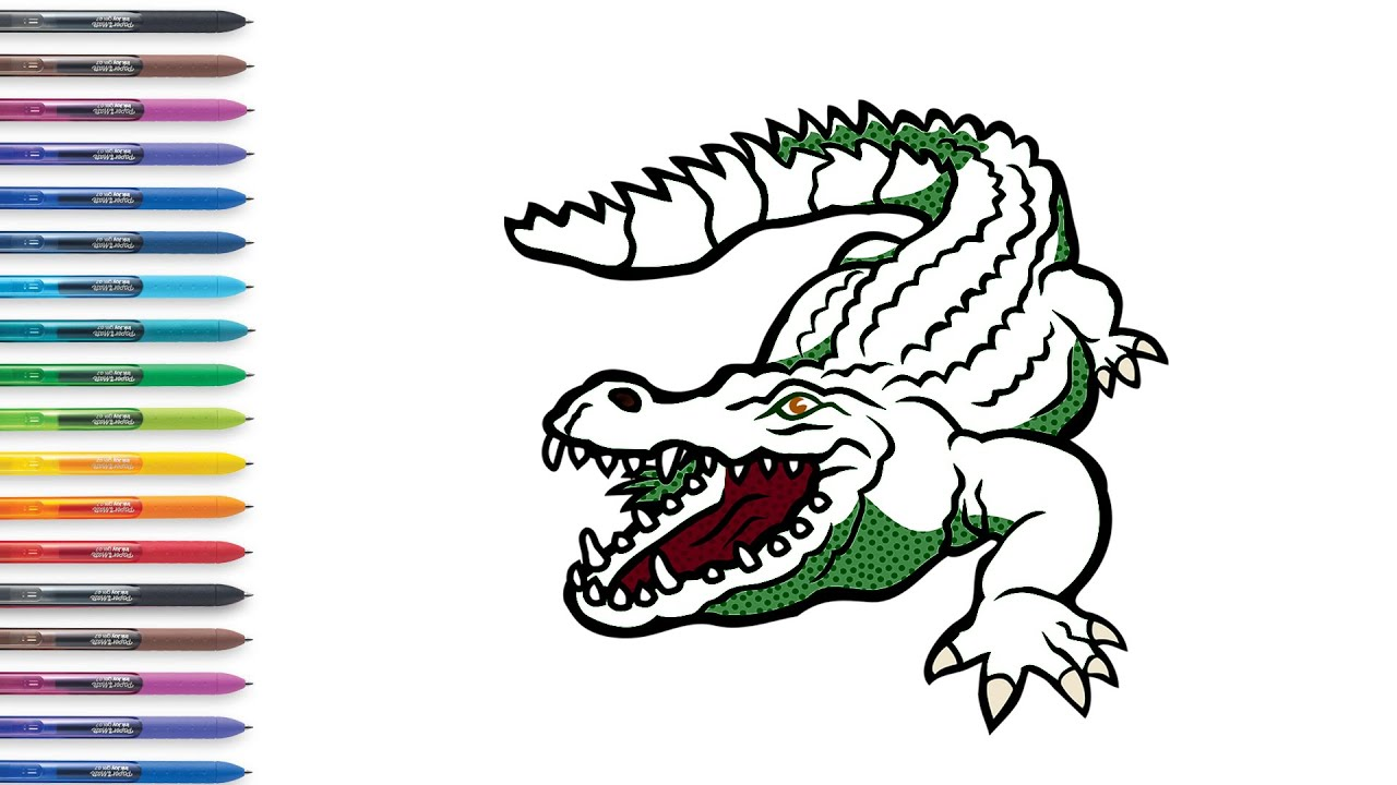 Crocodile Pictures To Color - Coloring Home   720x1280