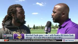 Vikings RB Dalvin Cook goes 1-on-1 with Marshall Faulk