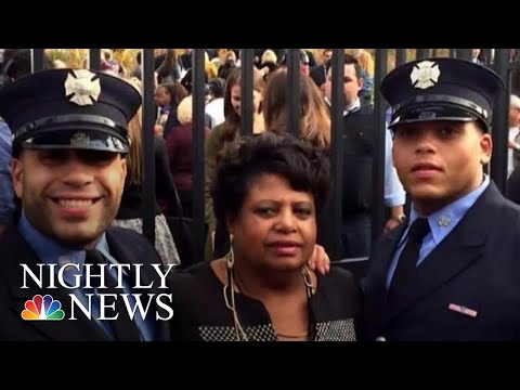 More Than A Dozen Children Of Fallen 9/11 Heroes Joining FDNY | NBC Nightly News