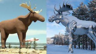 Canada mot Stor-Elvdal: Elg-krig