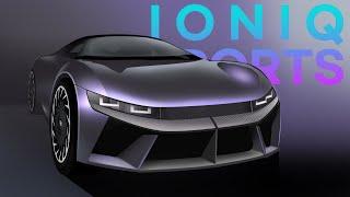 새로운 아이오닉 디자인? ioniq5 sports version