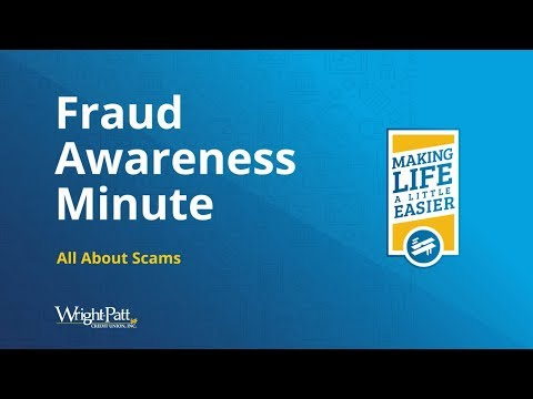 All About Scams - Fraud Education | Wright-Patt Credit Union