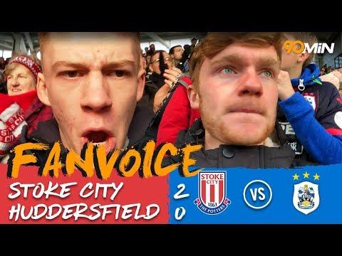 Allen and Diouf give Stoke the win against Huddersfield! | Stoke 2-0 Huddersfield | 90min Fanvoice