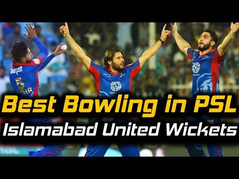 Karachi Kings Best Bowling | Fall of Wickets | Karachi Kings Vs Islamabad United | HBL PSL 2018