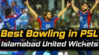 Karachi Kings Best Bowling   Fall of Wickets   Karachi Kings Vs Islamabad United   HBL PSL 2018