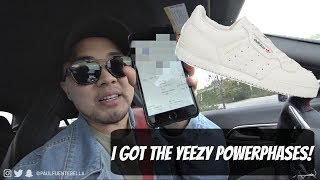 Copped the Adidas Yeezy Powerphase- Sunday VLOG