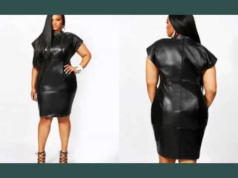 Leather Plus Size Dress For Plus Size Women | Picture Collection ...