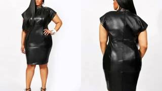 Leather Plus Size Dress For Plus Size Women   Picture Collection   Leather Plus Size Dress Romance
