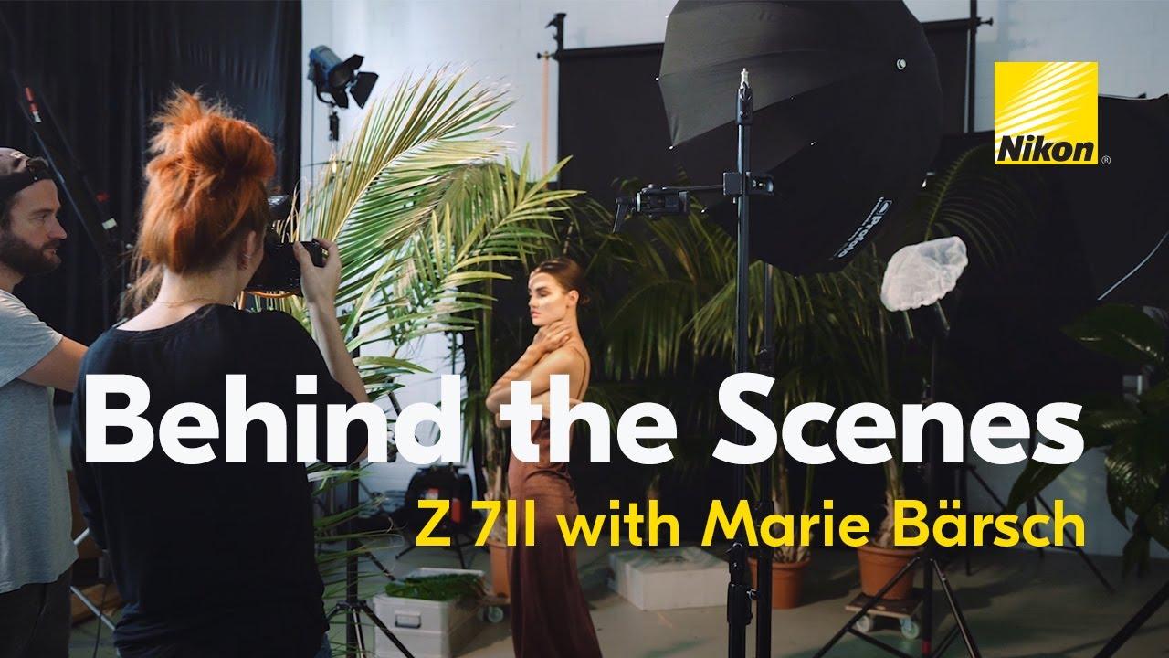 Behind the Scenes: Marie Bärsch with the Nikon Z 7II