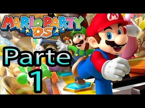Let's Play : Mario Party DS - Parte 1