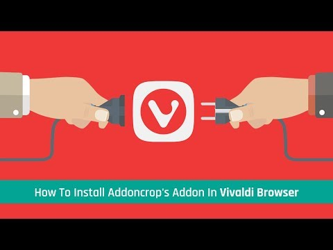 How To Install Addoncrop's Addon In Vivaldi Browser