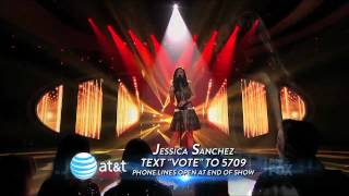Jessica Sanchez Everybody Has A Dream   Top 10   AMERICAN IDOL SEASON 11