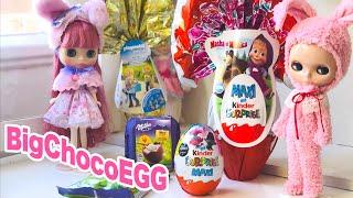 巨大イースターチョコエッグの中身は!?- Big Easter Kinder Egg 2020 -