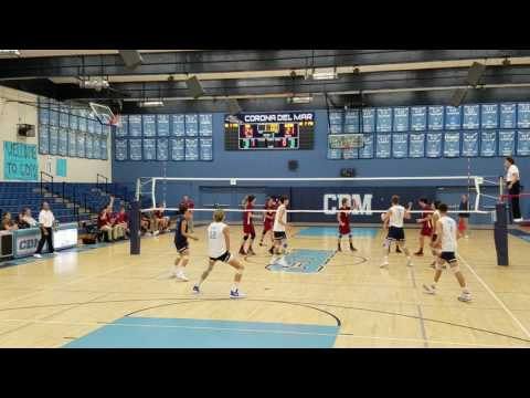 CDM -vs- Alemany - Volleyball CIF 1st round  05/09/2017 - DiegoNIck