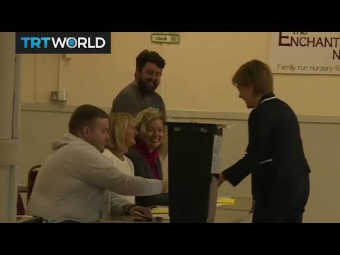 UK General Election: Voters arrive as polls open across the country