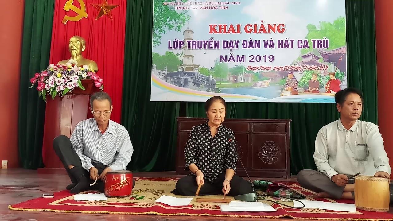 Đào hồng đào tuyết 1 – lớp ca trù Bắc Ninh 2019
