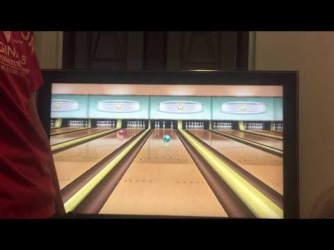 Wii Sports Bowling   4 - 5 - 7 - 10 split