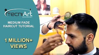 Medium Fade Pompadour | Men's Haircut & Hairstyle 2018 - SALON 11