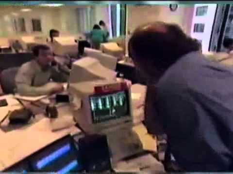 Jim Cramer of Mad Money at his Hedge Fund 1997