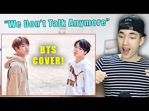 BTS Jungkook & Jimin Sing 'We Don't Talk Anymore' by Charlie Puth!