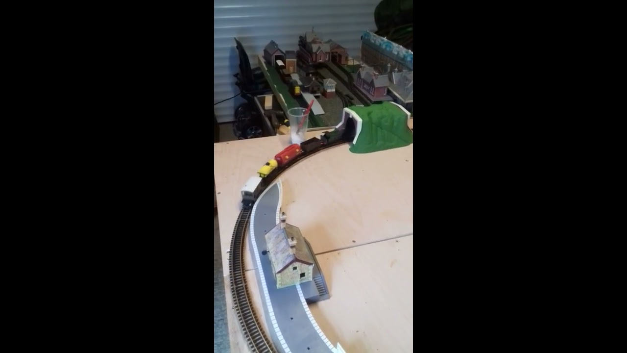 New Circular layout with sidings