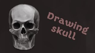 Рисунок черепа в фотошопе | Draw a skull in Photoshop(Speedpaint: рисунок черепа в фотошопе (Draw a skull in Photoshop) - ускоренный процесс. Буду рада, если видео окажется полезны..., 2016-04-02T17:44:00.000Z)