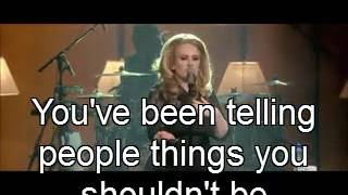 Adele-Rumour has it with lyric _(LIVE_ at the Royal Albert Hall)
