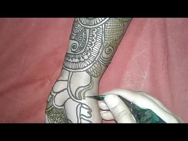 Full hand mehndi for wedding, party or karwa chauth by rangat mehndi ki