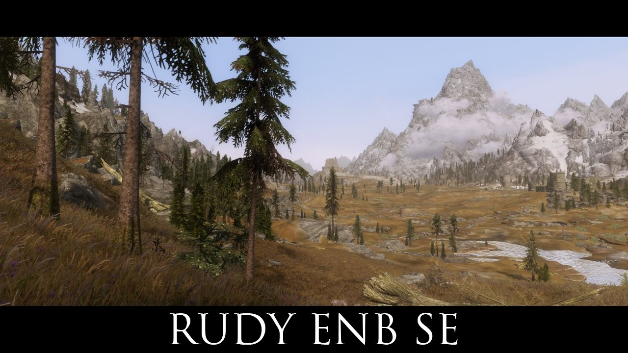 Skyrim SE Mods: Rudy ENB SE for Vivid Weathers