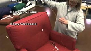 Button Forms for Upholstery