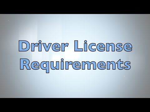 Driver License Requirements for Florida