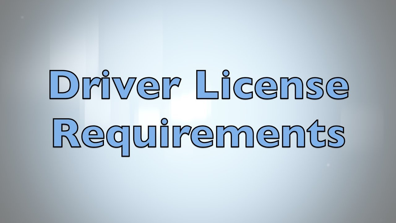 What to Bring For Driver's License? – Okaloosa County Tax