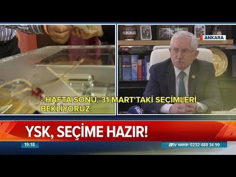 YSK, seçime hazır! - Atv Haber 25 Mart 2019