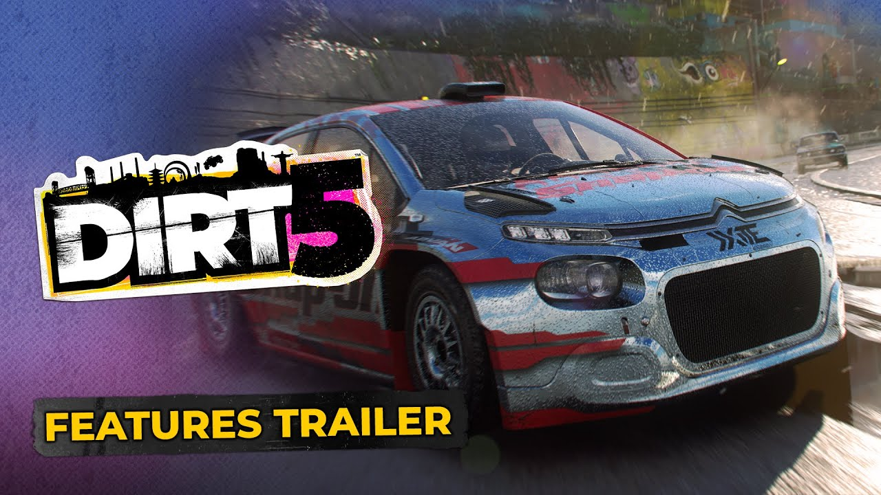 DIRT 5 New Cars and Features Trailer