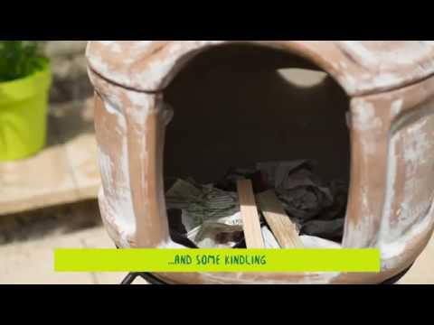 La Hacienda How to guide for curing your clay chiminea