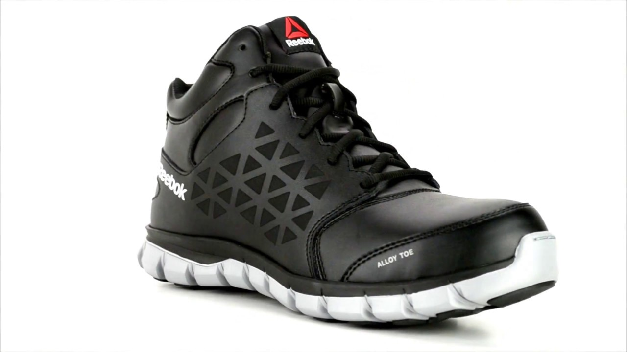 012f80f1f99 Men s Reebok Alloy Toe Work Boot RB4142   Steel-Toe-Shoes.com - YouTube