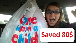 Once upon a child Grab a bag event! SAVED 80$ Clothing Haul!
