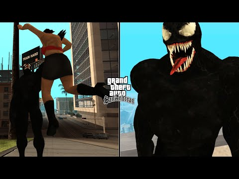 Secret Venom Cheat Code In GTA San Andreas [ALL ABILITIES]